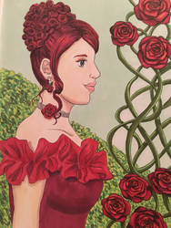 Lady Rose, Songstress by YumiMarie