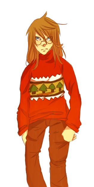 Anime Christmas Sweater.Ugly Christmas Sweaters Loveless By Princeaoyagi On Deviantart