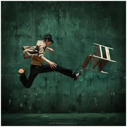 Shake Kick Motion by Widyantara