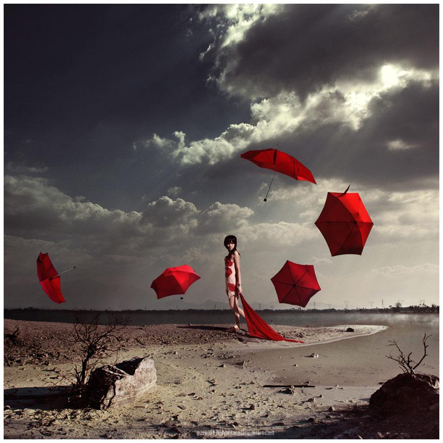 Umbrella must go by Widyantara