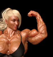 Sasha Hall Biceps Peak Refresh by Crypt567