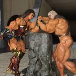 Wonder Woman vs He-Man