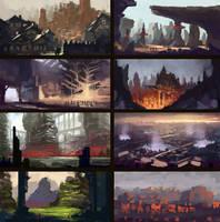 Thumbnails 2 by RaVirr17