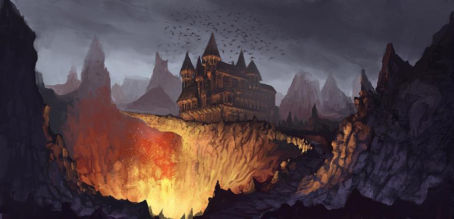 Castle by RaVirr17