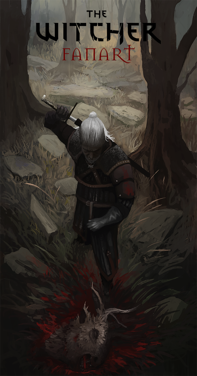 Witcher fanart by RaVirr17