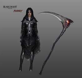 Sorceress costume concept