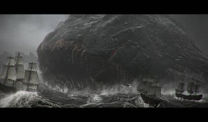 Sea monster attack!