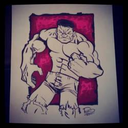 Hulk by Moon-Toons