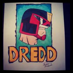 Judge Dredd 2 by Moon-Toons