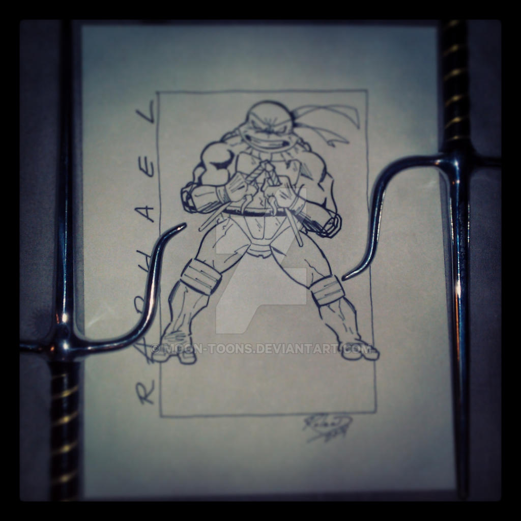 Raphael (inked over pencil)
