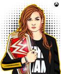 Becky Lynch Art