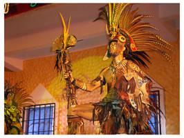 Mayan Warrior by highlytoxicx