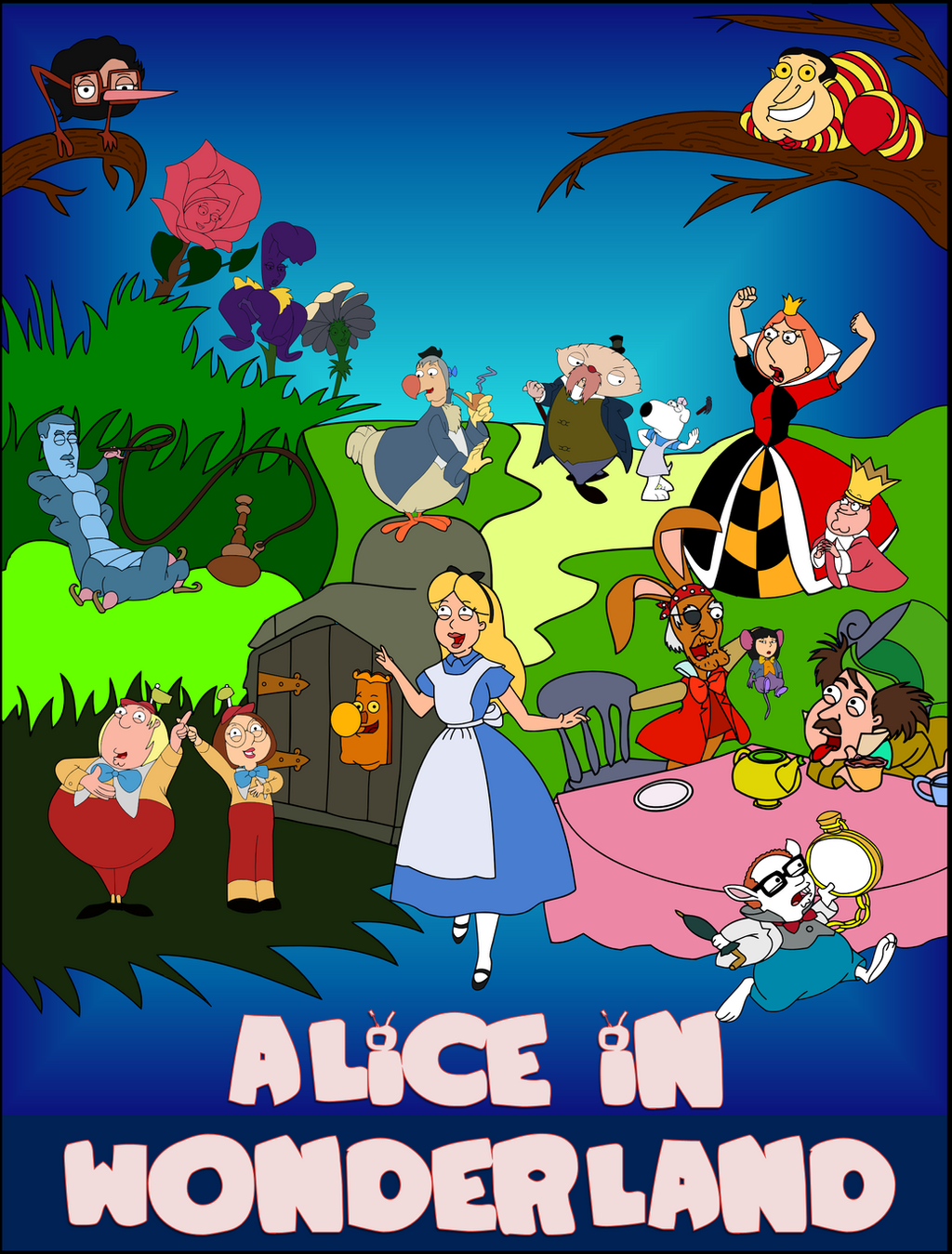 Family Guy Presents - Alice in Wonderland by classicalguy ...