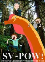 Sauropod Vertebra Picture Adventure! by classicalguy