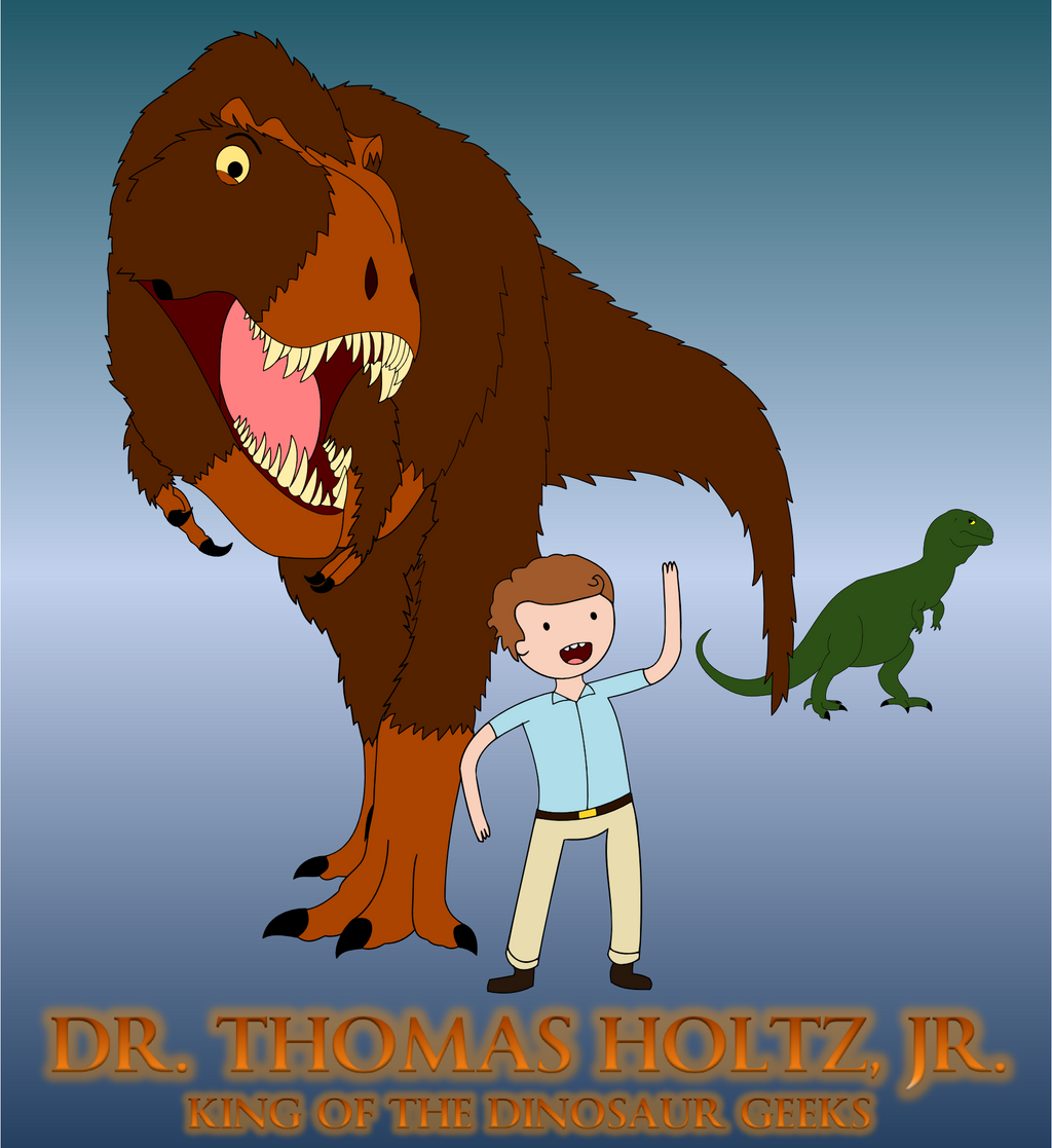 King of the Dinosaur Geeks by classicalguy
