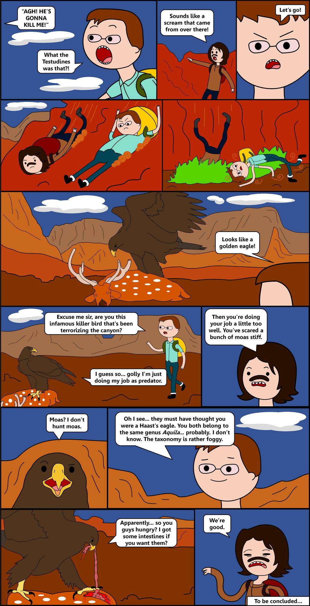 TetZoo Time! - Episode 1 (Comic 4/5) by classicalguy