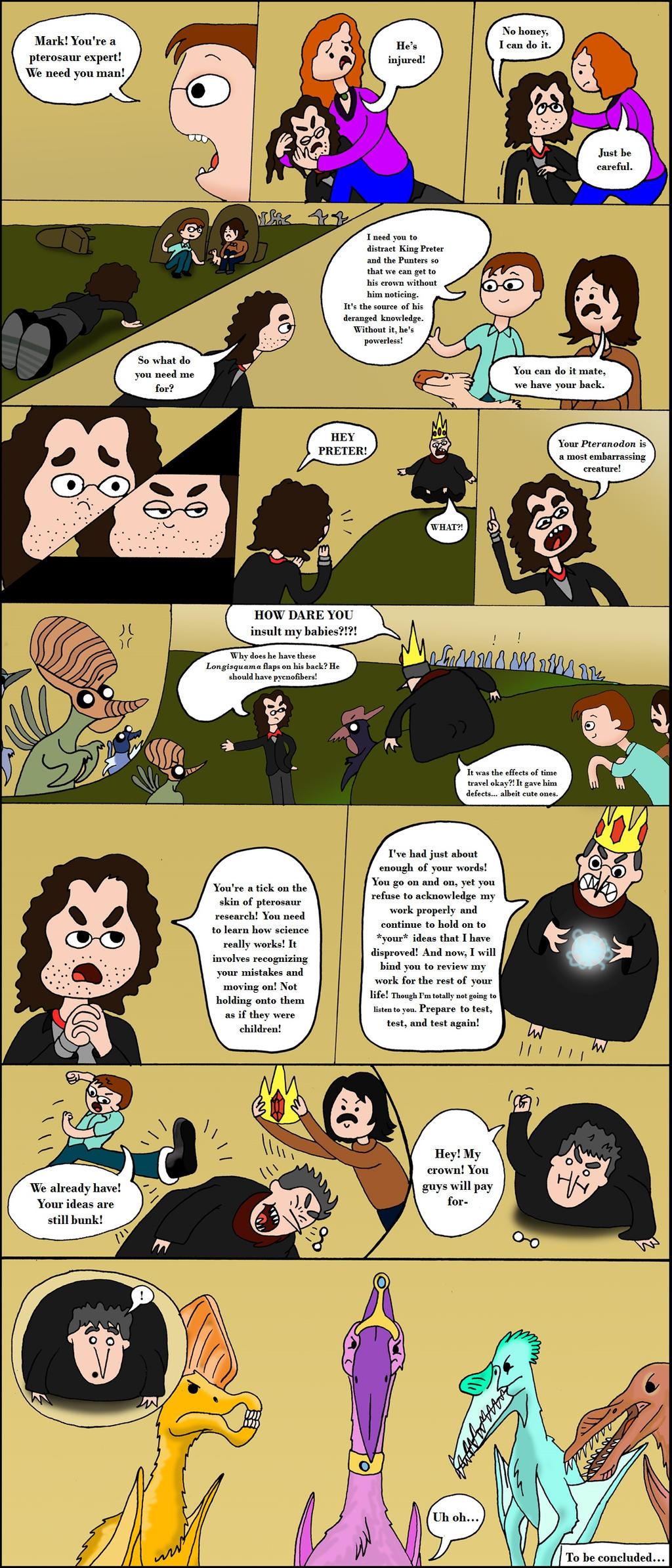 TetZoo Time! - Episode 2 (Comic 5/6) by classicalguy