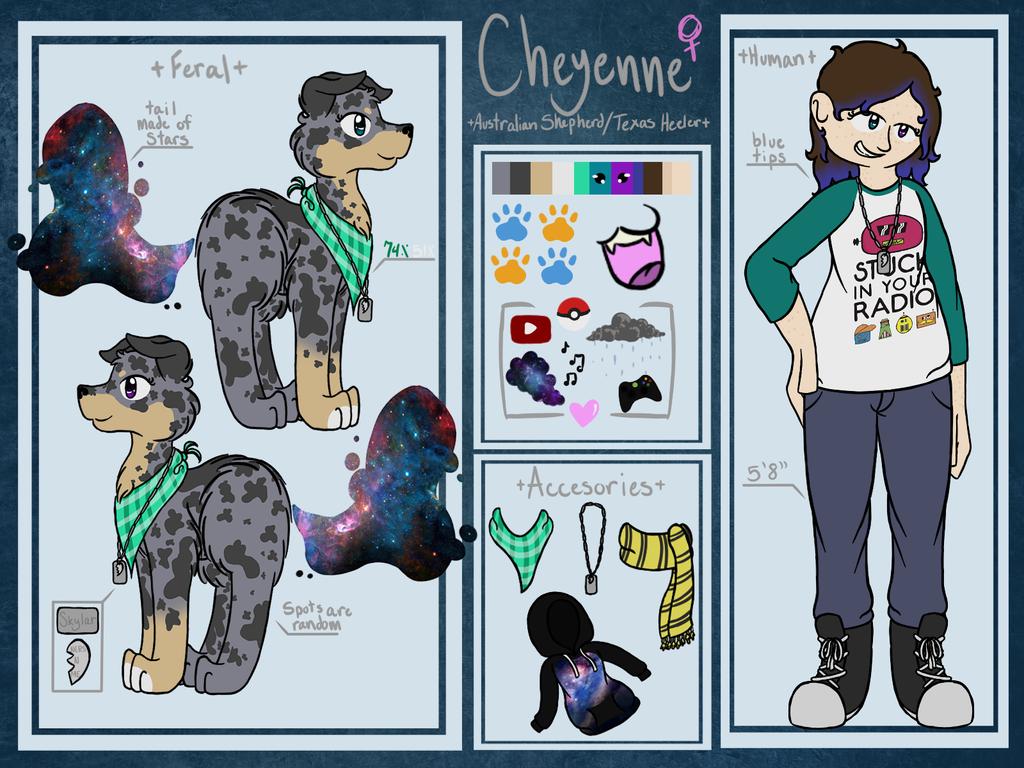 Fursona Reference: Cheyenne Astra by Crazywirdo872