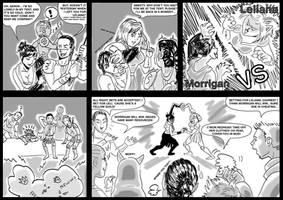 Morrigan vs Leliana II.I by Blueberry-me