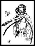 Boromir-Tolkien's description by Blueberry-me
