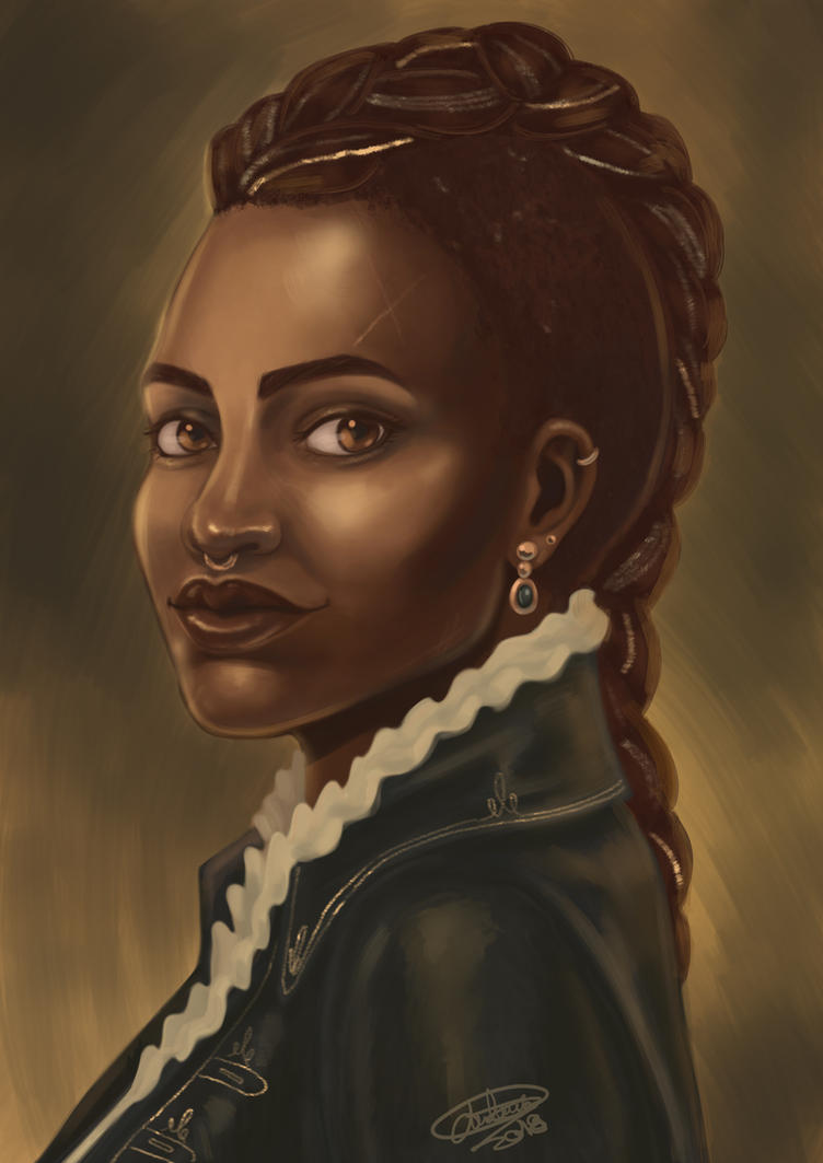 Arianna for Deadfire by Blueberry-me