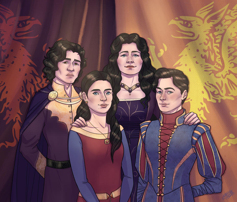 Comm-Family portrait. by Blueberry-me