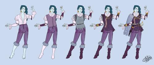 Serena de Shalesteps dress up