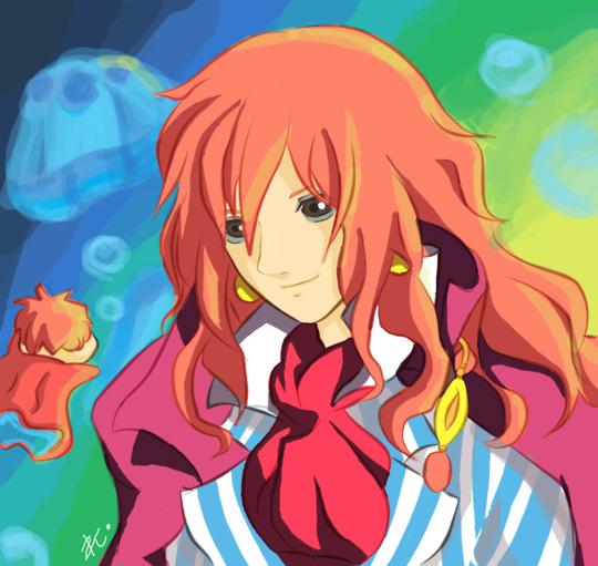 Fujimoto and Ponyo by mrcanimefreak