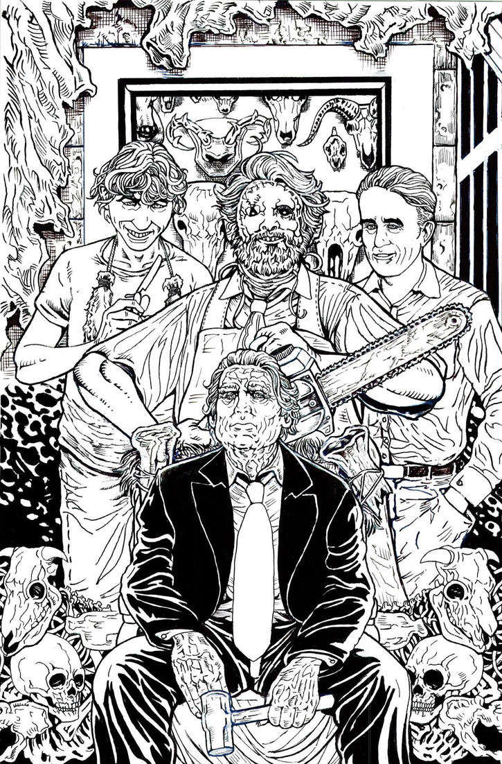 Last Podcast on the Left Texas Chainsaw Massacre by Samuel-Hain