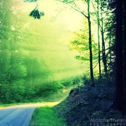 Green Rays by AljoschaThielen