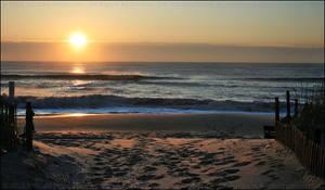 LBI Sunrise - After the Storm by mydigitalmind
