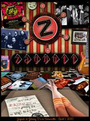 Gig Poster - Zagnutt by johnnyboston