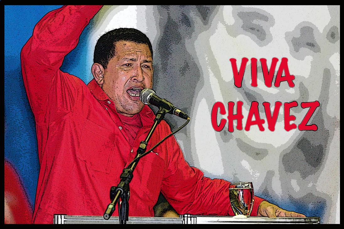 Hugo Chavez by IHGhost