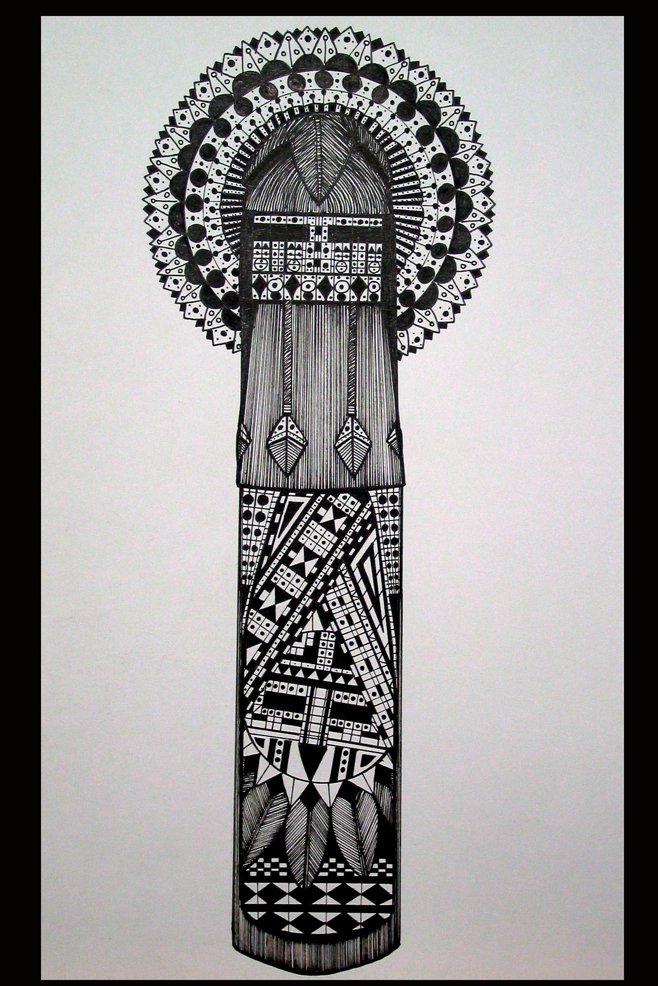 Hopi Kachina 7 by IHGhost on DeviantArt  Hopi Drawings