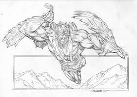 Flyin'  Munkeh by Kevin-Sharpe
