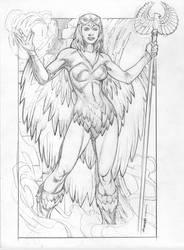 Sorceress of Grayskull by Kevin-Sharpe