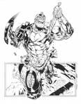 Trapjaw inks by Joe Weems 5