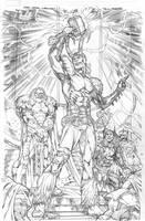 MA Superheroes Thor 19 by Kevin-Sharpe