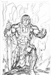 New 52 he-man by Kevin-Sharpe