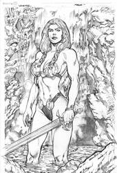 Valkyrie pencils by Kevin-Sharpe