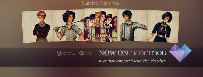 Narciso Sketches on NeonMob! by LeoDeMoura