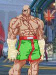 Sagat: CvS2 by iAmSprFstJellyfish