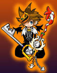 Sora - Colour by iAmSprFstJellyfish