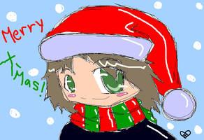 Merry X-Mas by iAmSprFstJellyfish
