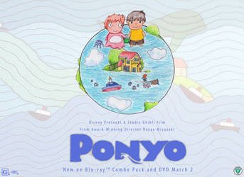 Ponyo World : Contest Entry by iAmSprFstJellyfish