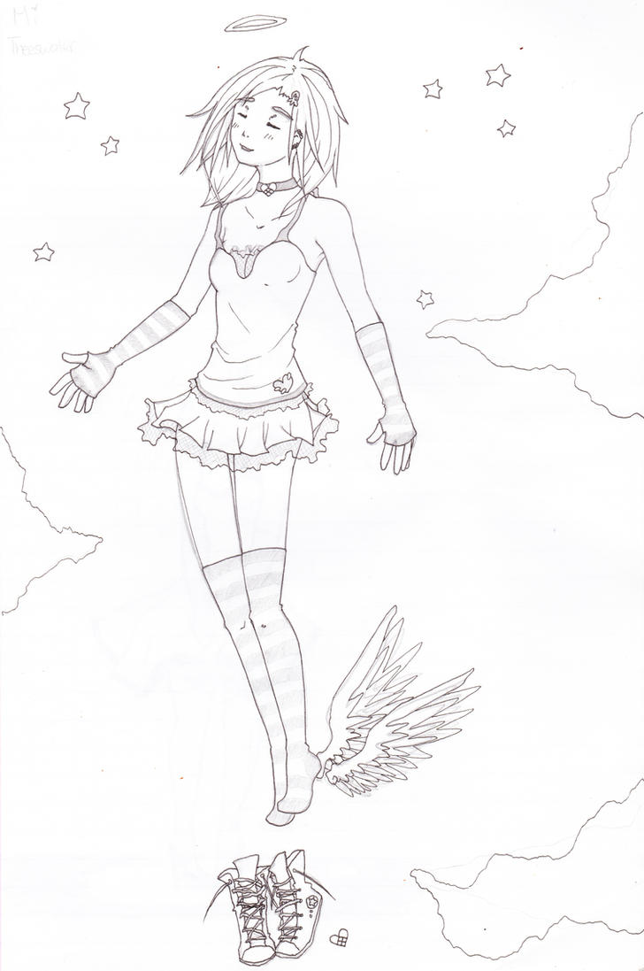 sketch: Mi Theeswater by iAmSprFstJellyfish