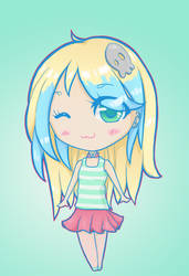 New Mi Chibi by iAmSprFstJellyfish