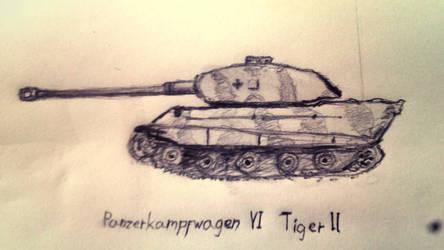 Tiger II by KettuFox