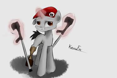 FanArt: Ponyfied Martin Rota by KettuFox