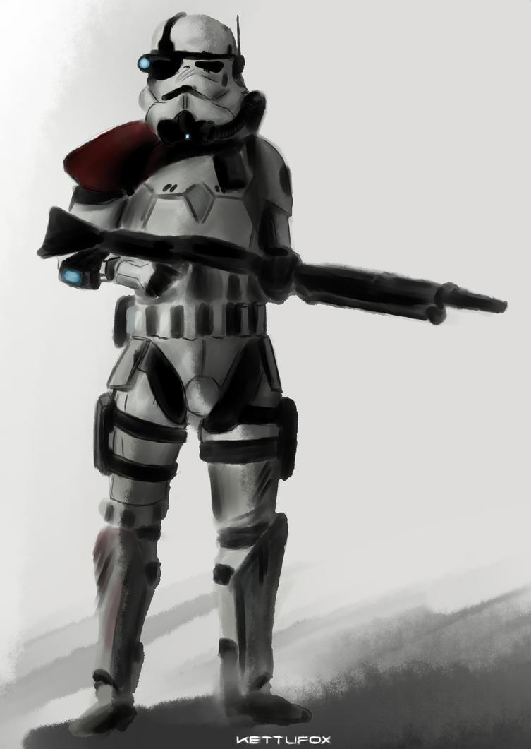 Magma Trooper by KettuFox